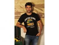 Ayrton Senna T-Shirt Three Times World Champion