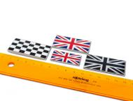 Self Adhesive Union Jack Badges - Enamal