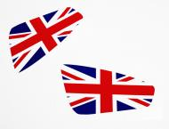 Union Jack Stickerset for elise-shop.com Cup spoiler