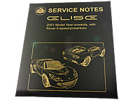 Elise Series 2 Workshop Manual (Rover engine)