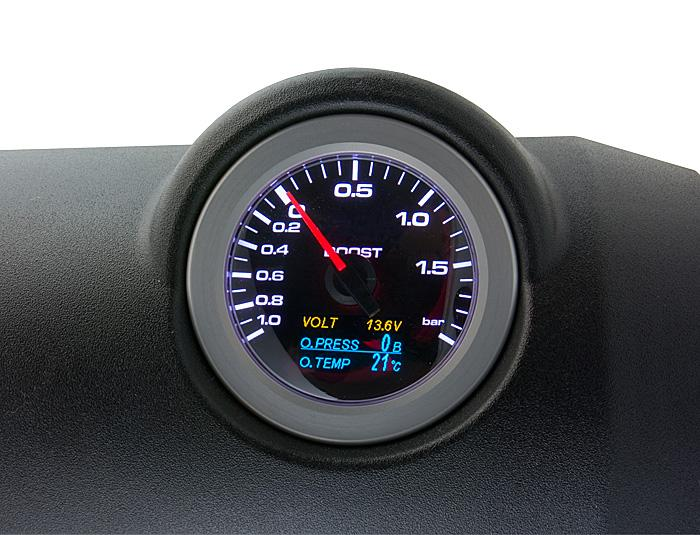 ef6f780ebc52 High Precision 60mm Boost   OilTemp   Oil Pressure gauge  CLWA6014 ...