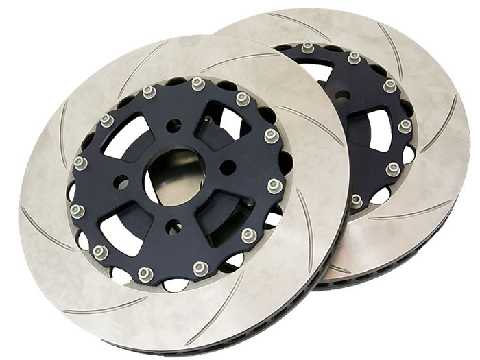 AP Racing discs and aluminium bells (pair) (Elise, Exige. 340R)