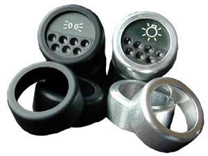Alloy button surrounds SET OF 7 PCS (Esprit V8)