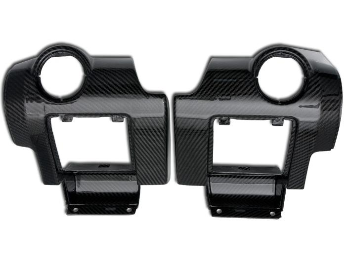 A-Post Trim panels in Carbon Fibre (Elise/Exige S2, Exige V6 Airbag DASH)