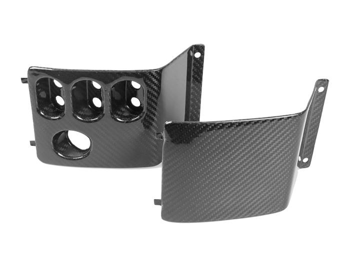 Carbon Fibre Switch panel insets for new dash (Elise, Exige, Exige V6 MY08 on)