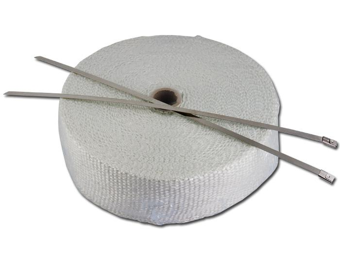 Exhaust heat wrap: 50mm Wide x 15 Metre