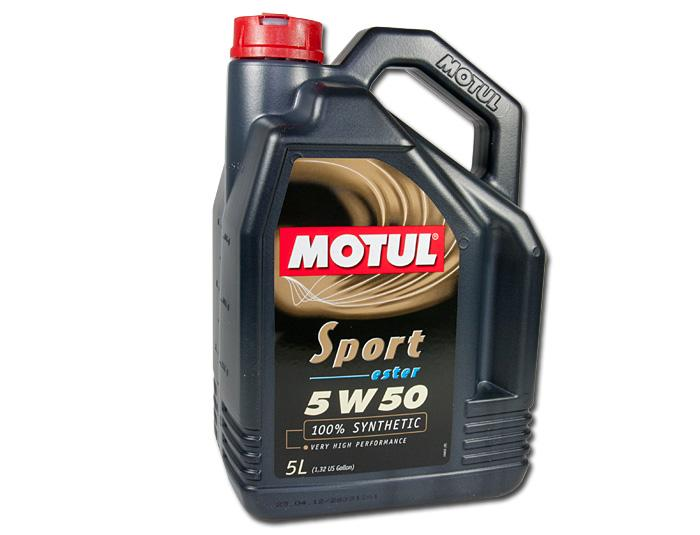 Motul Sport 5W50 Fully Synthetic Oil (5 LTR)