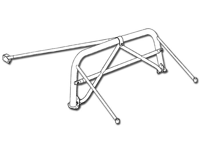 FIA Homologated Harness Bar including Petty Bar (Elise S1, Elise S2)