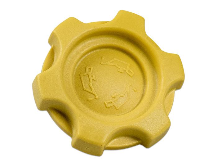Oil Cap Yellow (Rover K-Series)