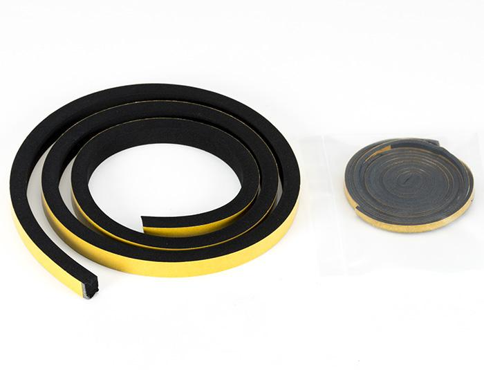 Closed Cell Rubber seal for early Elise S1 rear windscreen