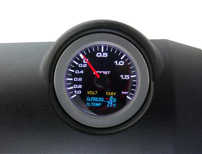 High Precision 60mm Boost / OilTemp / Oil Pressure gauge