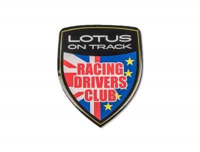 Lotus On Track Racing Drivers Club 3D Badge