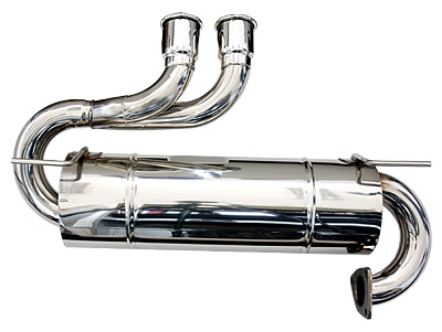 Larini 'Sports' Stainless Exhaust with extra Silencing Layer (Elise S1)