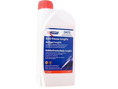 OAT 5 Lotus & Rover approved Engine Coolant