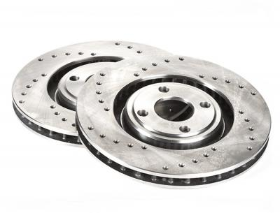 Cross Drilled brake discs (pair) (Elise & Exige S1, 340R