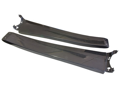 Carbon Fibre Sill Covers (Elise S2, Exige S2 all models)