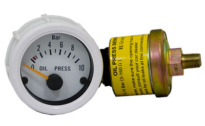 Electrical Oil Pressure Gauge PSI (all cars)