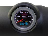 High Precision 60mm Oil Pressure / Temp / Water temp gauge