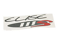 DECAL'111S'SMALL GRAPHITE/RED (Elise S1)