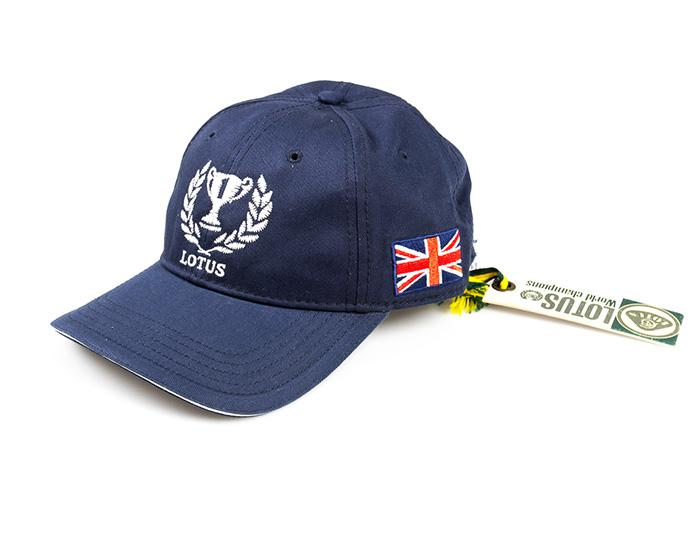 Genuine Lotus Trophy Cap Dark Blue