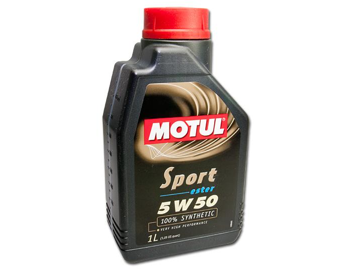 Motul Sport 5W50 Fully Synthetic Oil (1 LTR)