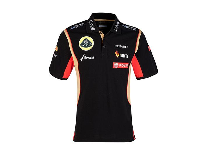 Lotus F1 2014 Mens Replica Polo