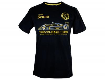 Ayrton Senna T-Shirt First Victory Portugal