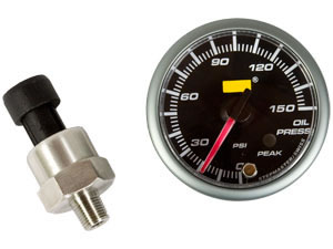 High Precision 52mm Oil Pressure gauge including sensor
