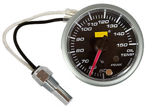 High Precision 52mm Oil Temperature gauge including sensor